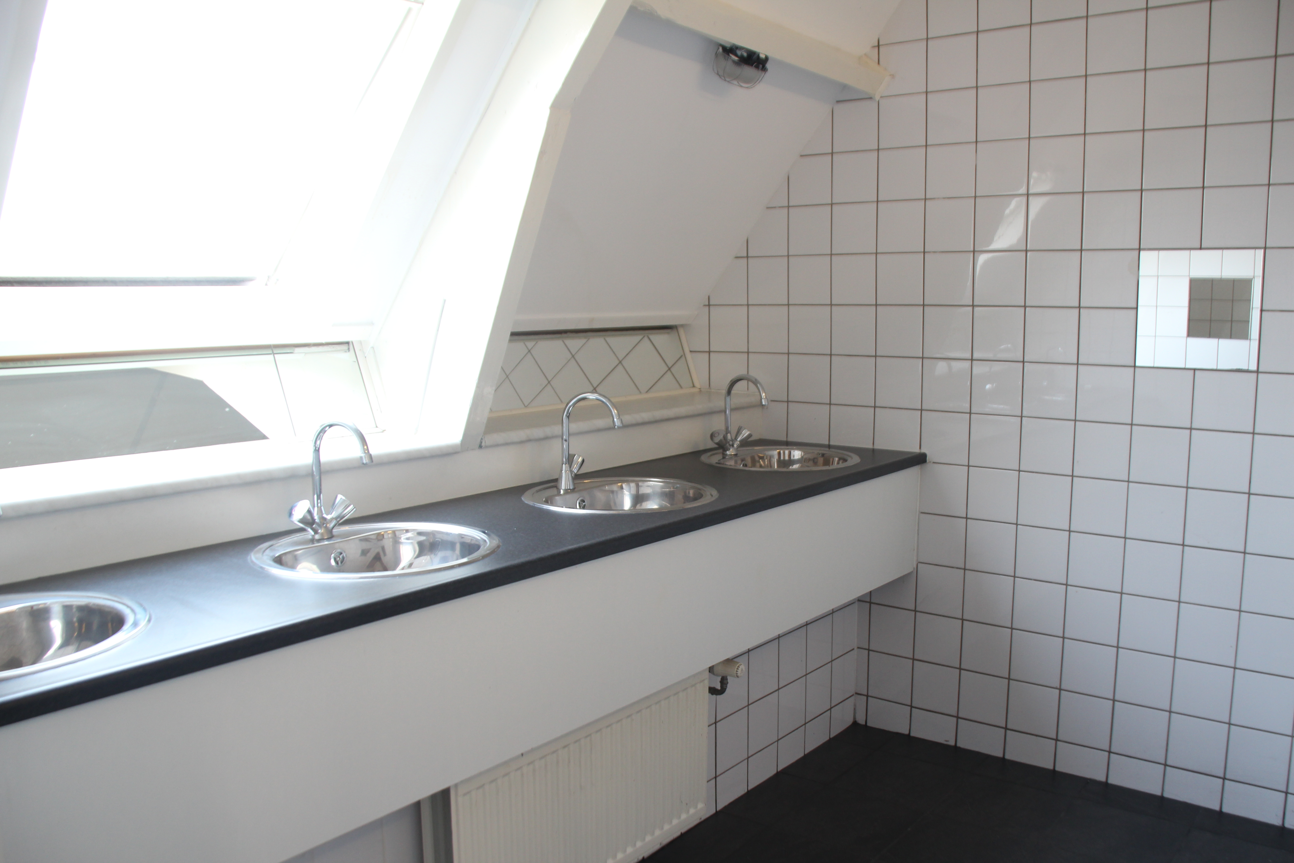 eerste grote badkamer